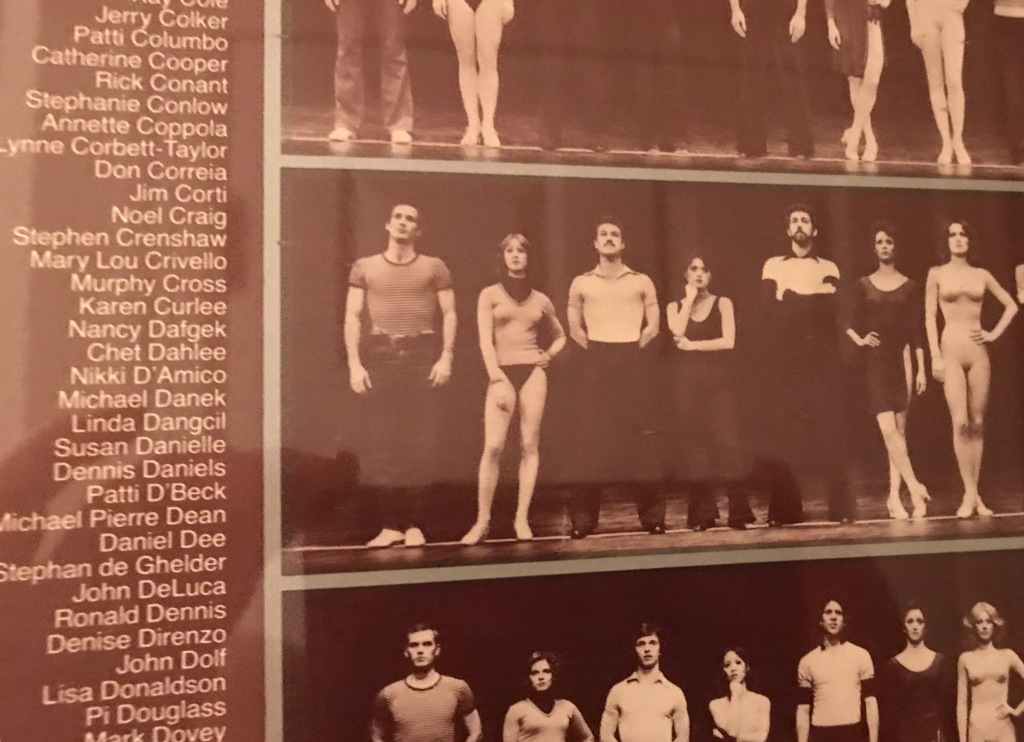 "1st National Company of ""A Chorus Line."" I played ""Maggie,"" who sings ""At the Ballet."" I still miss doing the show."